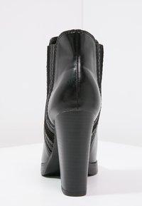 Anna Field - Kotníková obuv na vysokém podpatku - black - 3