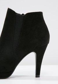 Anna Field - Højhælede støvletter - black - 5