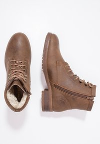 Anna Field - Lace-up ankle boots - coffee - 2