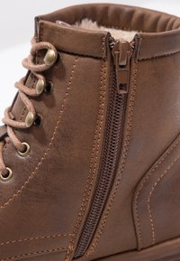 Anna Field - Lace-up ankle boots - coffee - 6