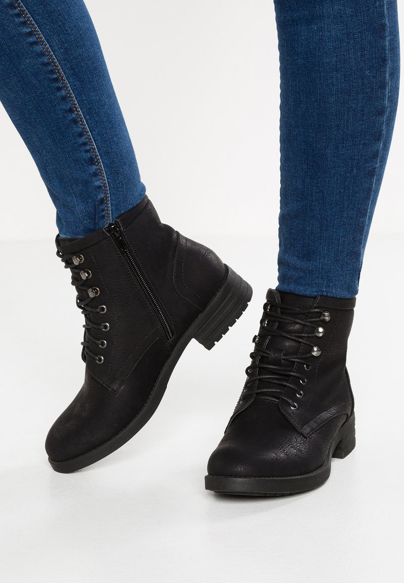 Anna Field - Lace-up ankle boots - black