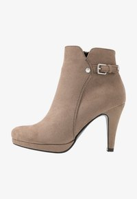 Anna Field - High heeled ankle boots - taupe - 1