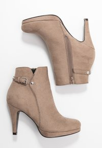 Anna Field - High heeled ankle boots - taupe - 2
