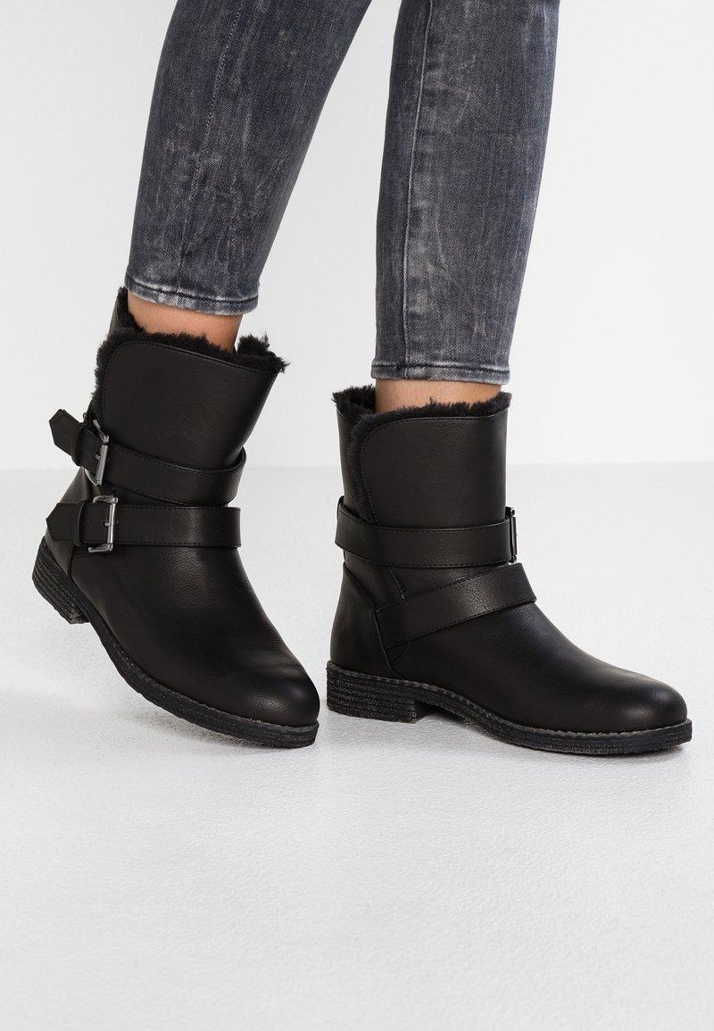 Anna Field - Cowboystøvletter - black