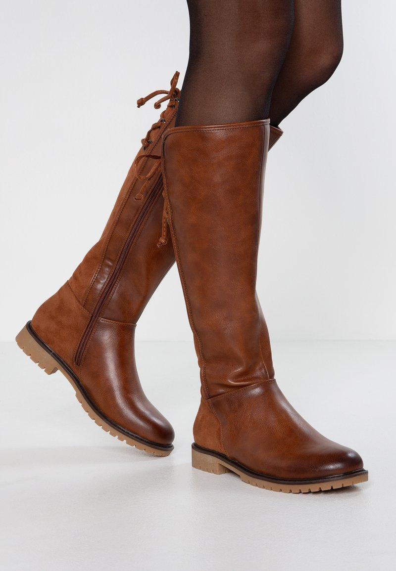 Anna Field - Snowboots  - cognac