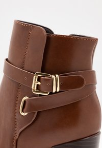 Anna Field - High heeled ankle boots - cognac - 2