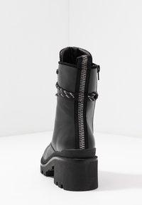 Anna Field - Šněrovací kotníkové boty - black - 5
