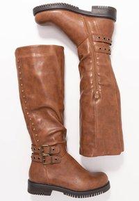 Anna Field - Kovbojské/motorkářské boty - brown - 3