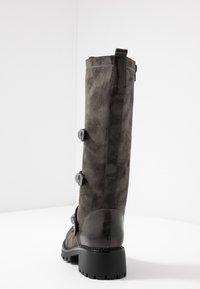 Anna Field - Šněrovací vysoké boty - dark grey - 5
