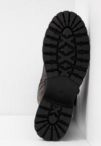 Anna Field - Šněrovací vysoké boty - dark grey - 6