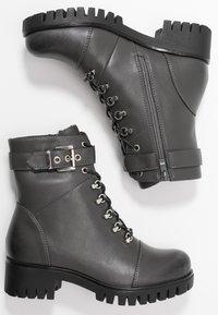 Anna Field - Šněrovací kotníkové boty - grey - 3