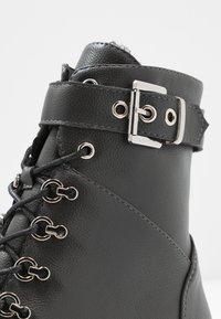 Anna Field - Šněrovací kotníkové boty - grey - 2