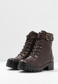 Anna Field - Lace-up ankle boots - brown - 4