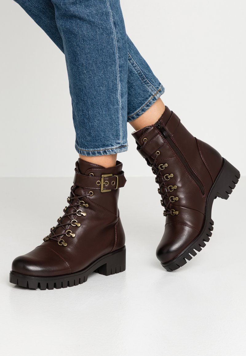 Anna Field - Lace-up ankle boots - brown