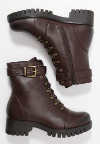 Anna Field - Lace-up ankle boots - brown - 3