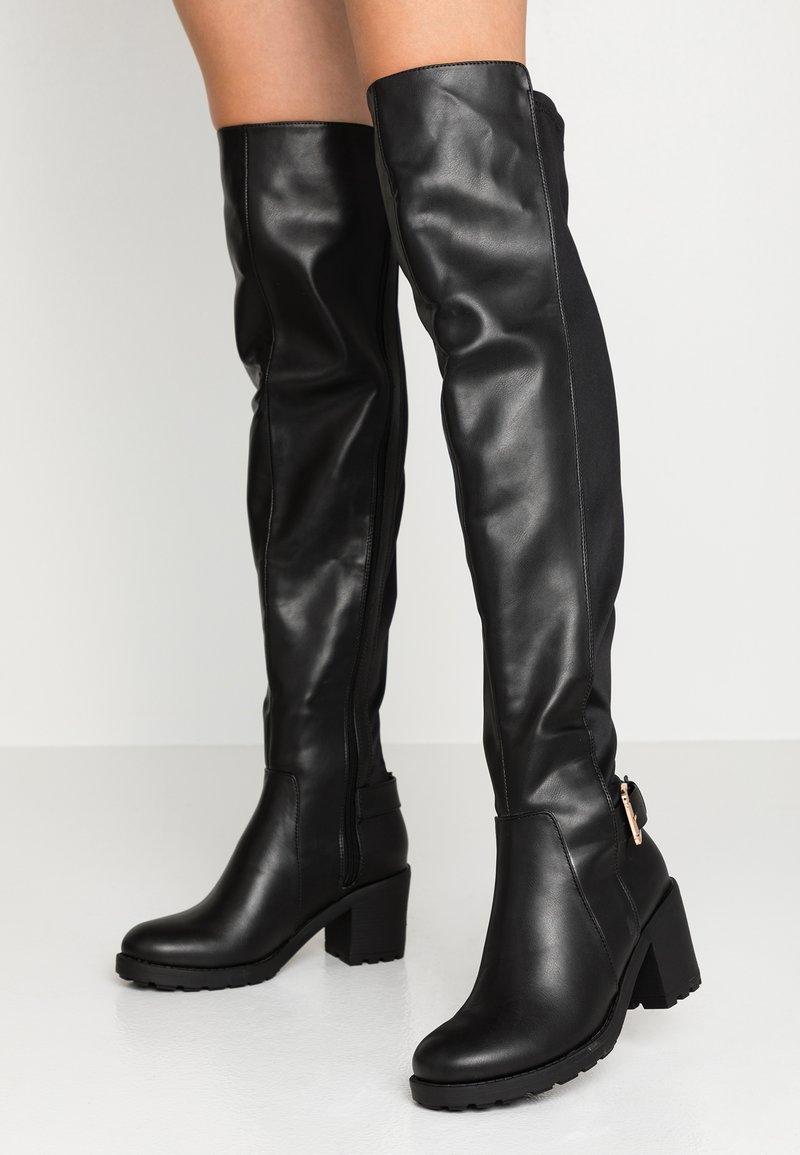 Anna Field - Høye støvler - black
