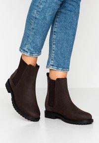 Anna Field - Zimní obuv - dark brown - 0