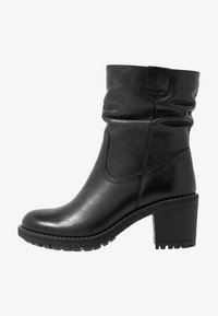 Anna Field - LEATHER WINTER BOOTIES - Winter boots - black - 1