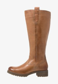 Anna Field - LEATHER WINTER BOOTS - Winter boots - cognac - 1