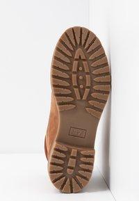 Anna Field - LEATHER WINTER BOOTS - Winter boots - cognac - 6