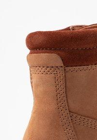 Anna Field - LEATHER WINTER BOOTS - Winter boots - cognac - 2