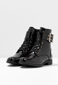 Anna Field - Bottines à lacets - black - 4