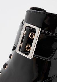 Anna Field - Bottines à lacets - black - 2