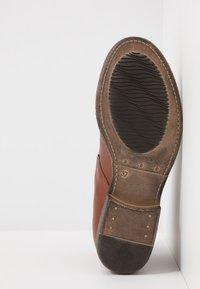 Anna Field - LEATHER WINTER BOOTIES - Winter boots - cognac - 6