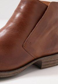 Anna Field - LEATHER WINTER BOOTIES - Winter boots - cognac - 2