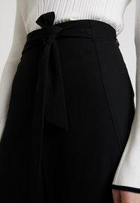 Anna Field - Spodnie materiałowe - black - 4
