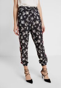 Anna Field - Trousers -  black/red/white - 0