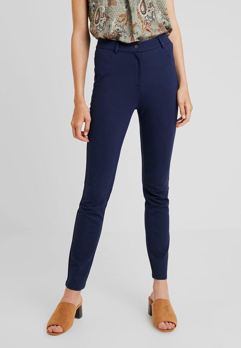 Anna Field - Trousers - maritime blue