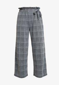 Anna Field - Spodnie materiałowe - black/white - 4
