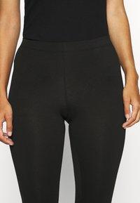 Anna Field - 2 PACK Capri Leggings with Lace - Legging - dark blue/black - 5