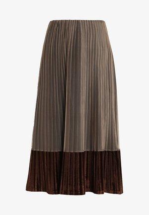 Áčková sukně - beige/brown
