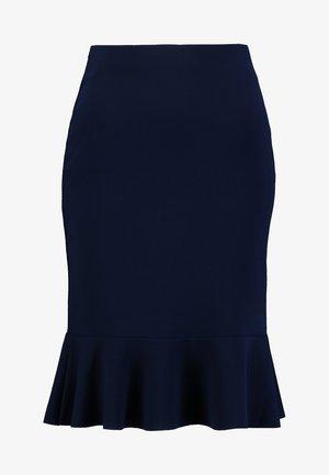 Pouzdrová sukně - maritime blue
