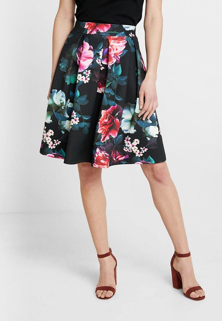Anna Field - A-snit nederdel/ A-formede nederdele - black/pink