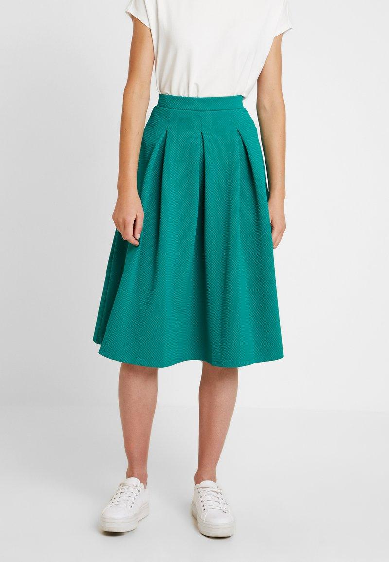 Anna Field - A-snit nederdel/ A-formede nederdele - cadmium green
