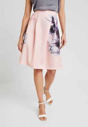 Áčková sukně - lilac/rose
