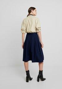 Anna Field - Áčková sukně - maritime blue - 2