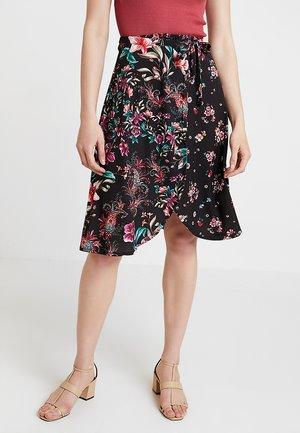 Minifalda - black/pink