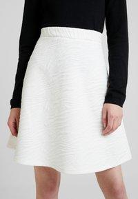 Anna Field - Miniskjørt - white - 5