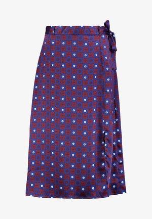 Áčková sukně - red/dark blue