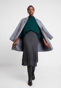Anna Field - Áčková sukně - mid grey melange - 1