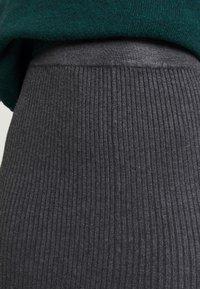 Anna Field - Áčková sukně - mid grey melange - 5