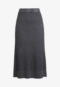 Anna Field - Áčková sukně - mid grey melange - 4