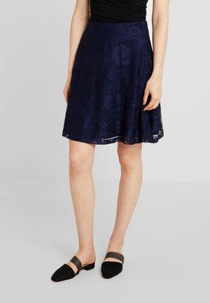 Mini skirt - maritime blue
