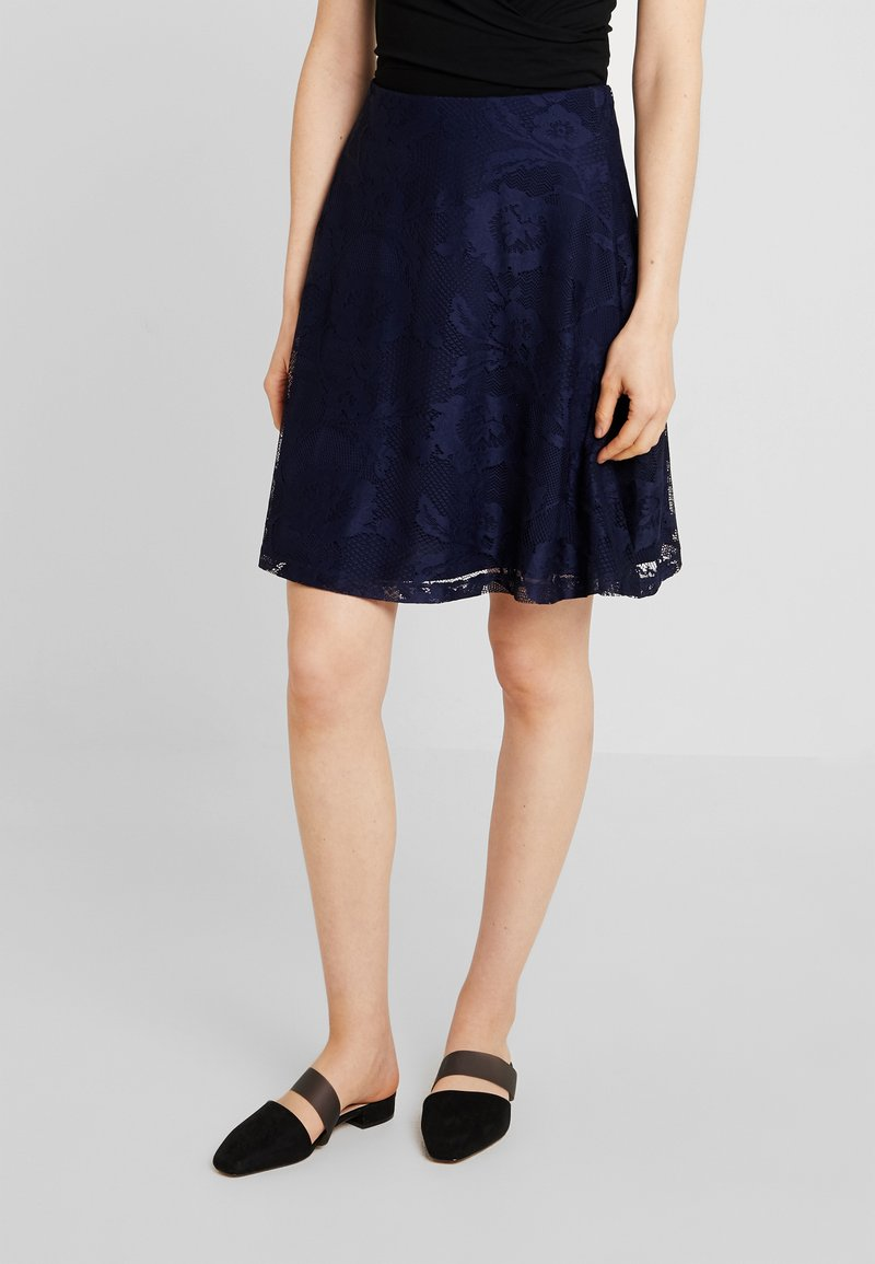 Anna Field - Minifalda - maritime blue