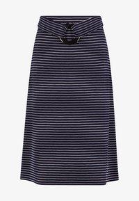 Anna Field - Blyantnederdel / pencil skirts - dark blue/white - 4