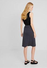 Anna Field - Blyantnederdel / pencil skirts - dark blue/white - 2